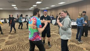 Whit teach Stage Combat Workshop KC-ACTF 2020